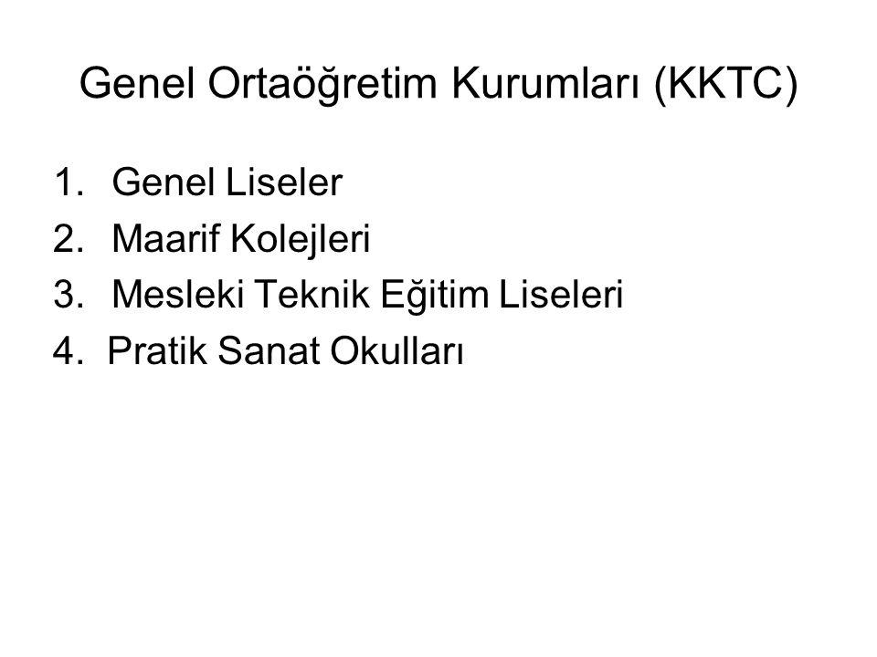 Genel Ortaöğretim Kurumları (KKTC)