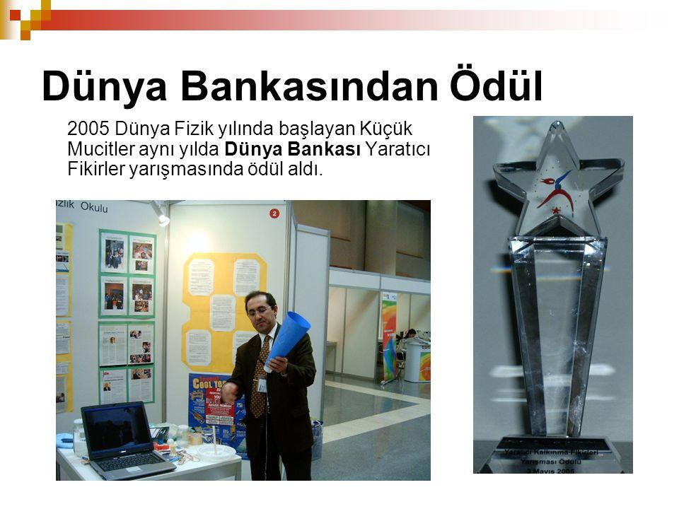 Dünya Bankasından Ödül