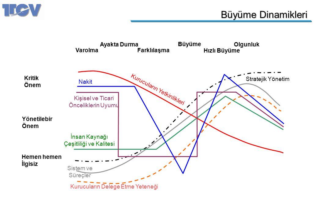 Büyüme Dinamikleri Sistem ve Süreçler Kurucuların Delege Etme Yeteneği