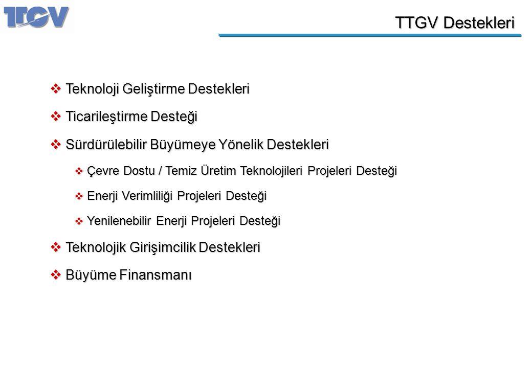 TTGV Destekleri Teknoloji Geliştirme Destekleri Ticarileştirme Desteği