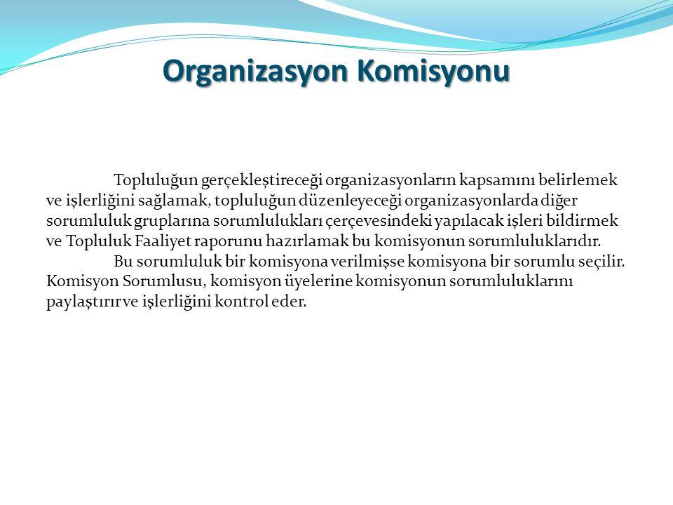 Organizasyon Komisyonu