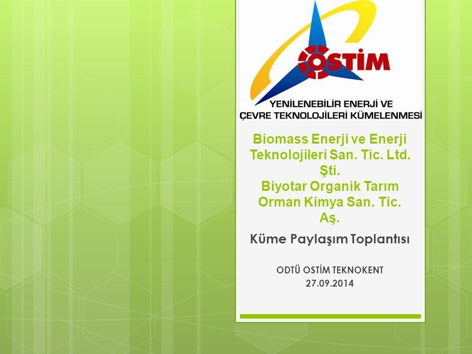 Küme Paylaşım Toplantısı ODTÜ OSTİM TEKNOKENT 27.09.2014
