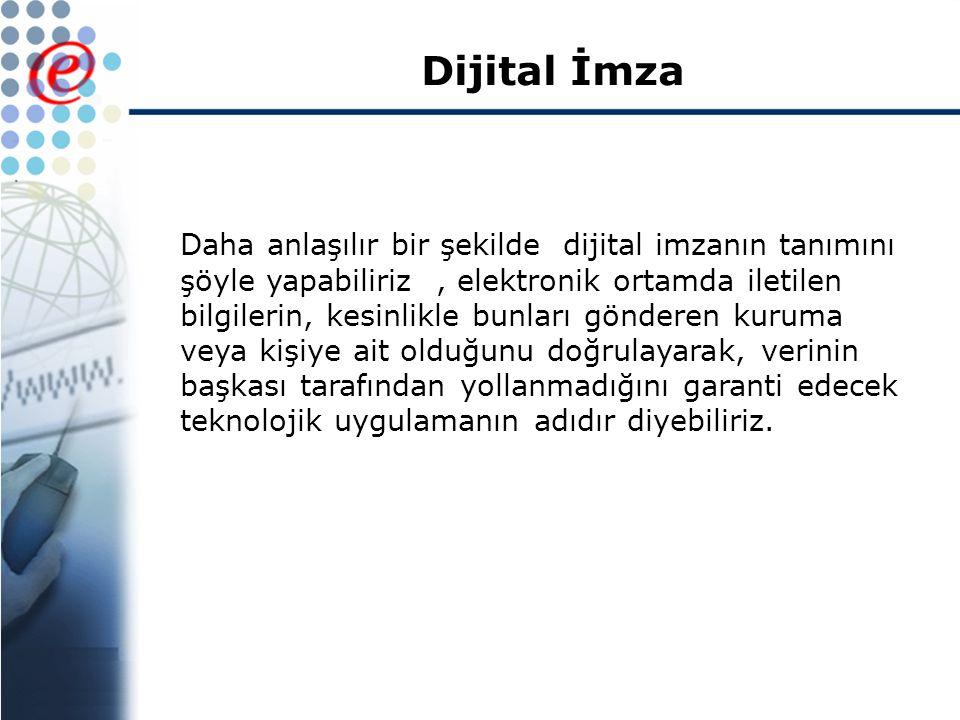 Dijital İmza