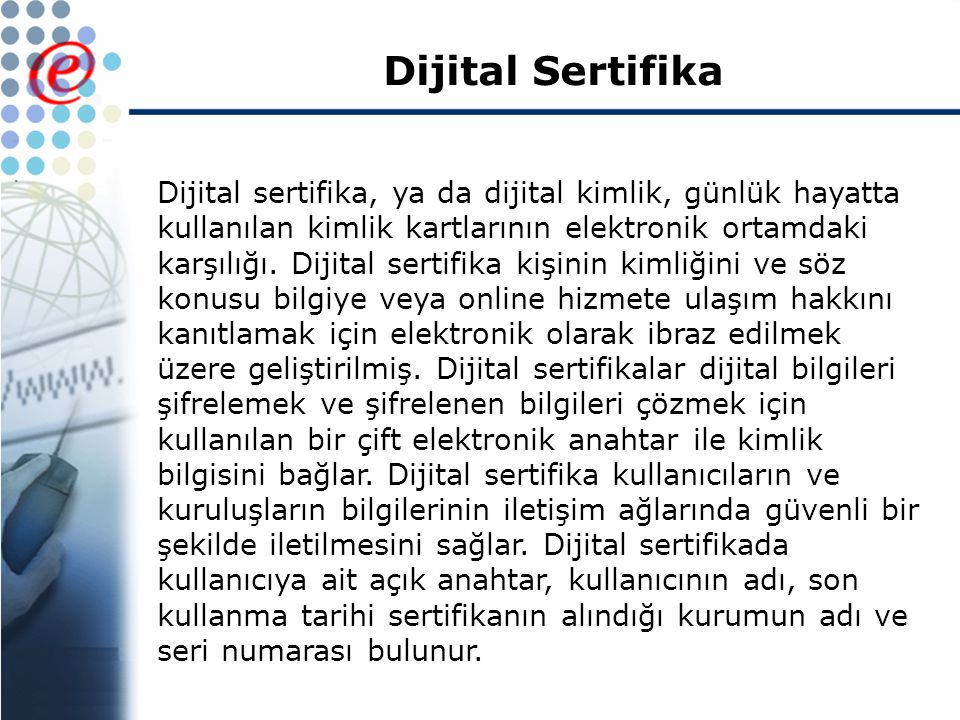 Dijital Sertifika