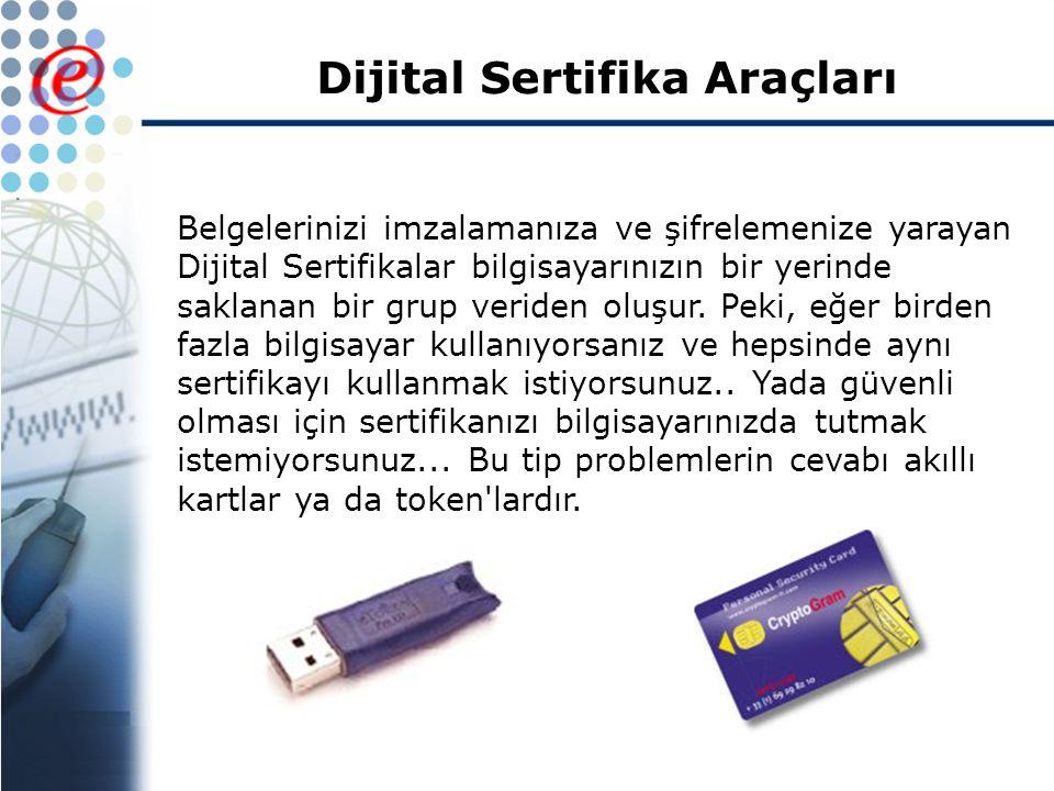 Dijital Sertifika Araçları