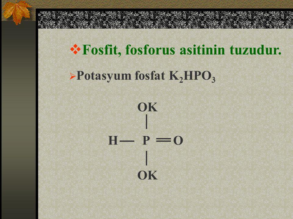 Fosfit, fosforus asitinin tuzudur.