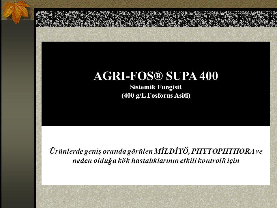 AGRI-FOS® SUPA 400 Sistemik Fungisit