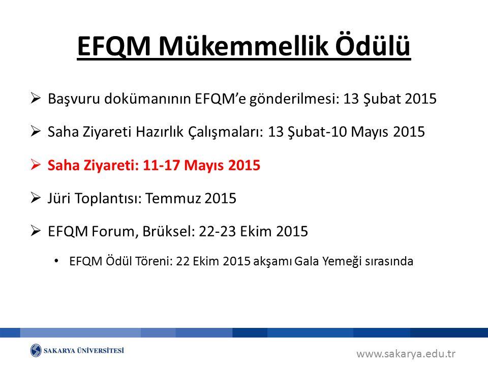 EFQM Mükemmellik Ödülü
