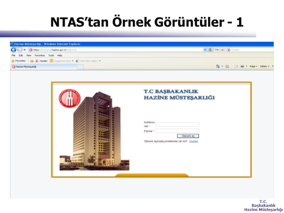 NTAS'tan Örnek Görüntüler - 1