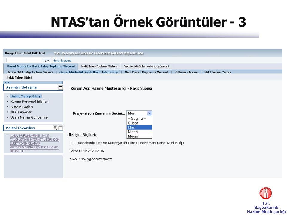 NTAS'tan Örnek Görüntüler - 3