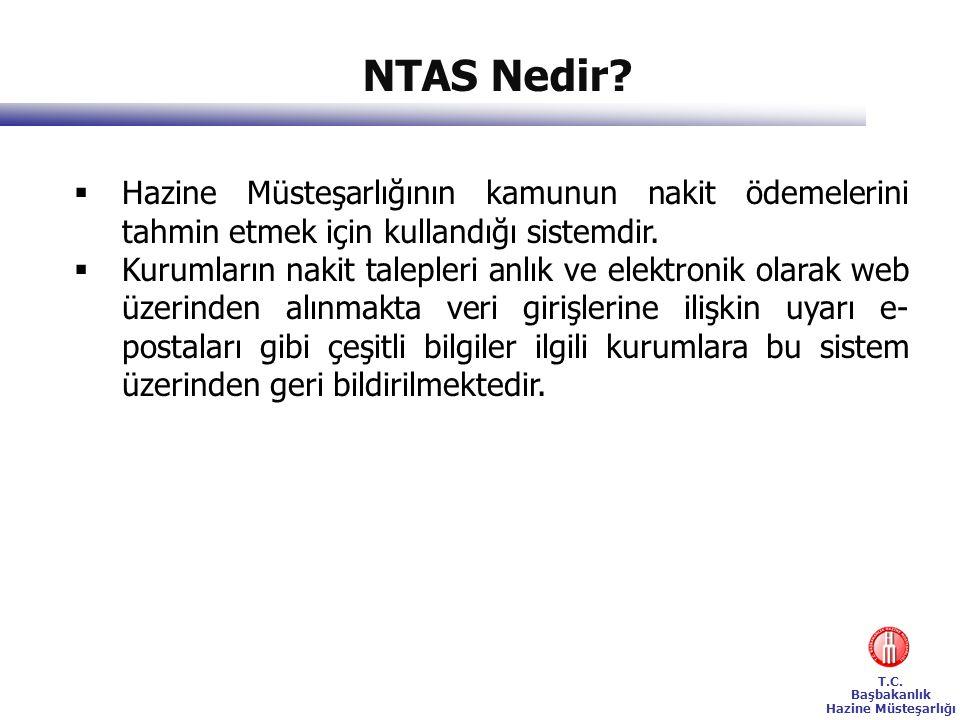 NTAS Nedir Hazine Müsteşarlığının kamunun nakit ödemelerini tahmin etmek için kullandığı sistemdir.