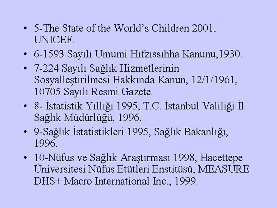 5-The State of the World's Children 2001, UNICEF.