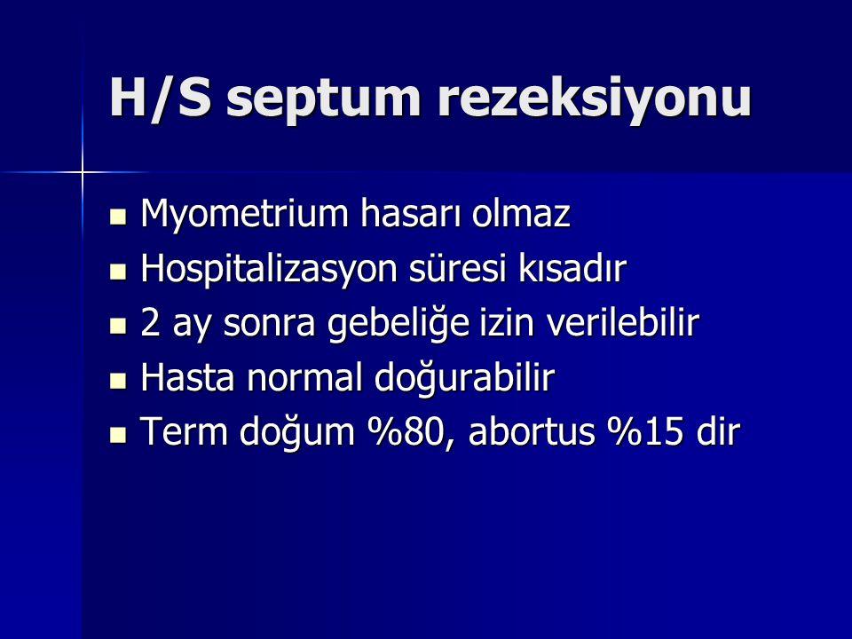 H/S septum rezeksiyonu