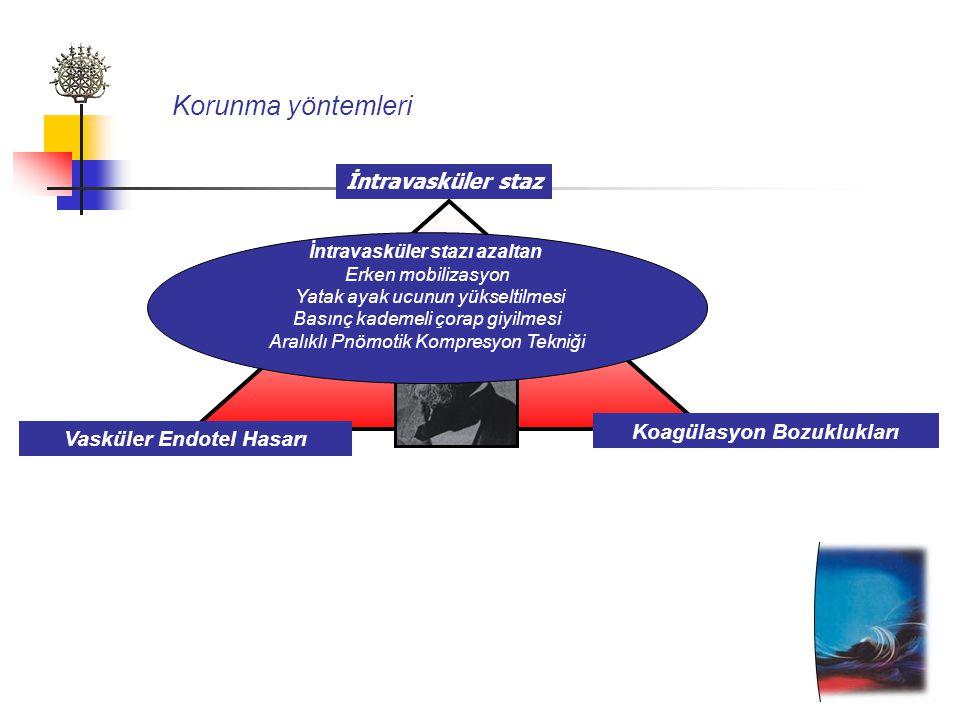 Koagülasyon Bozuklukları Vasküler Endotel Hasarı
