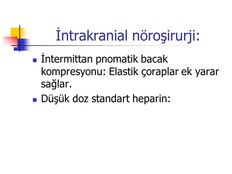 İntrakranial nöroşirurji: