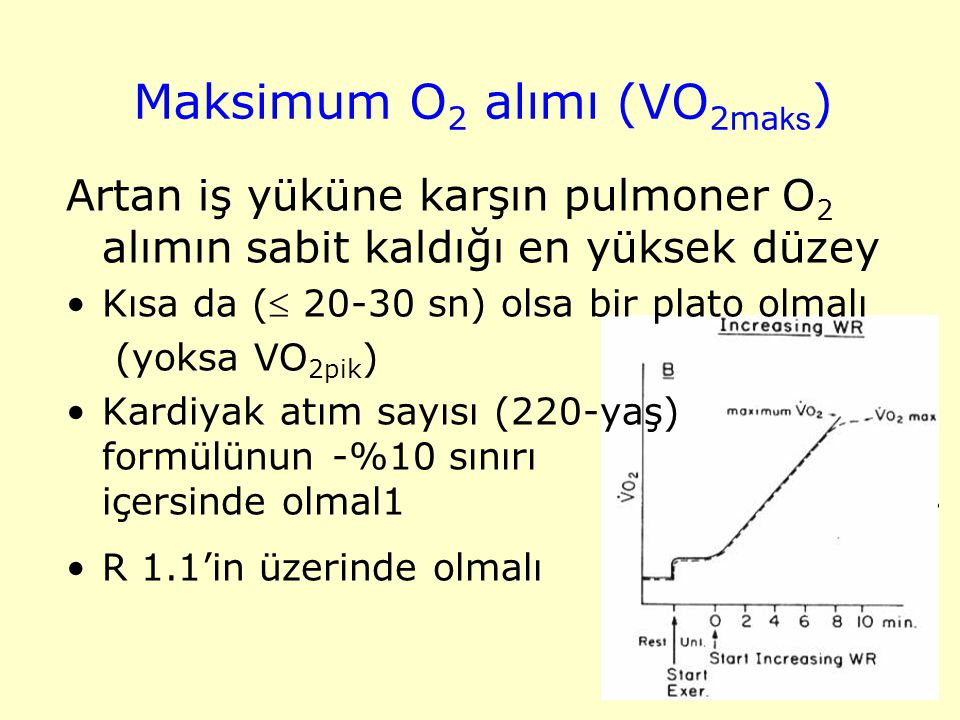 Maksimum O2 alımı (VO2maks)