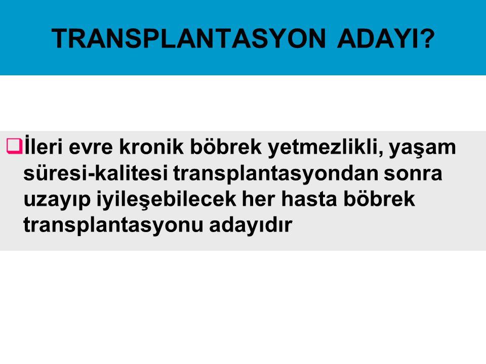 TRANSPLANTASYON ADAYI