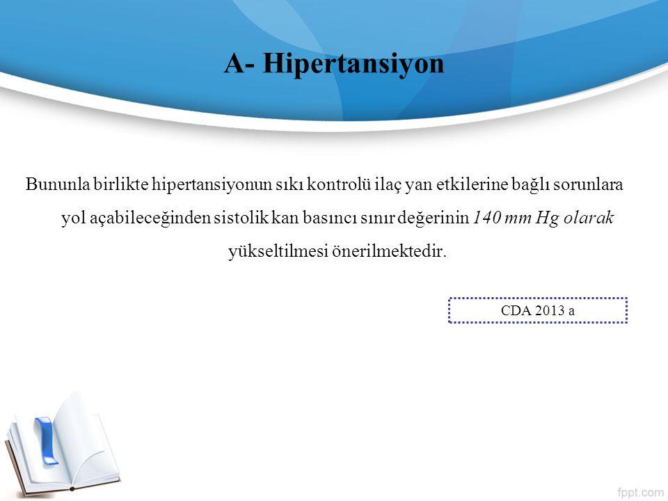 A- Hipertansiyon