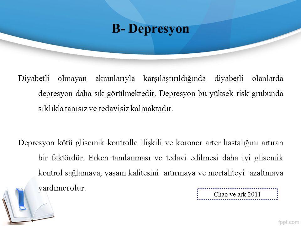 B- Depresyon