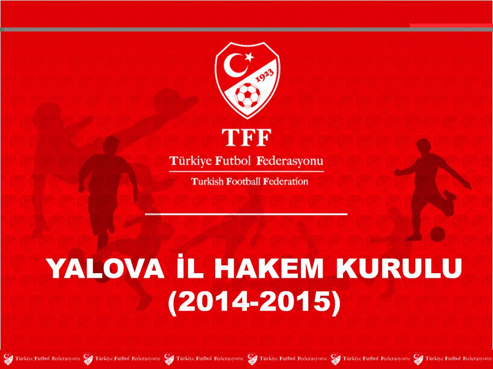 YALOVA İL HAKEM KURULU (2014-2015)