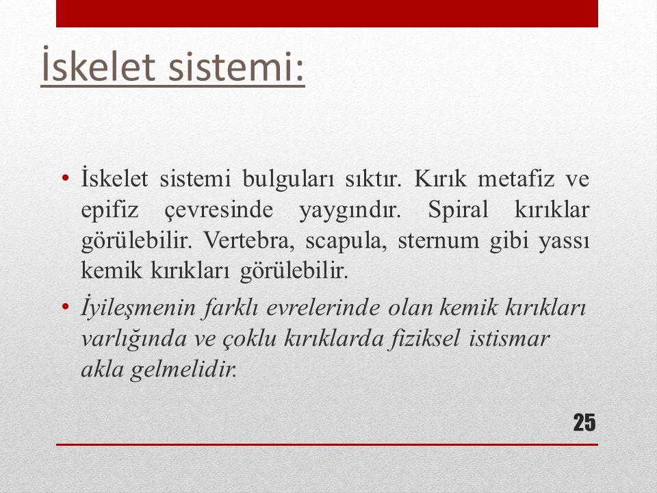 İskelet sistemi: