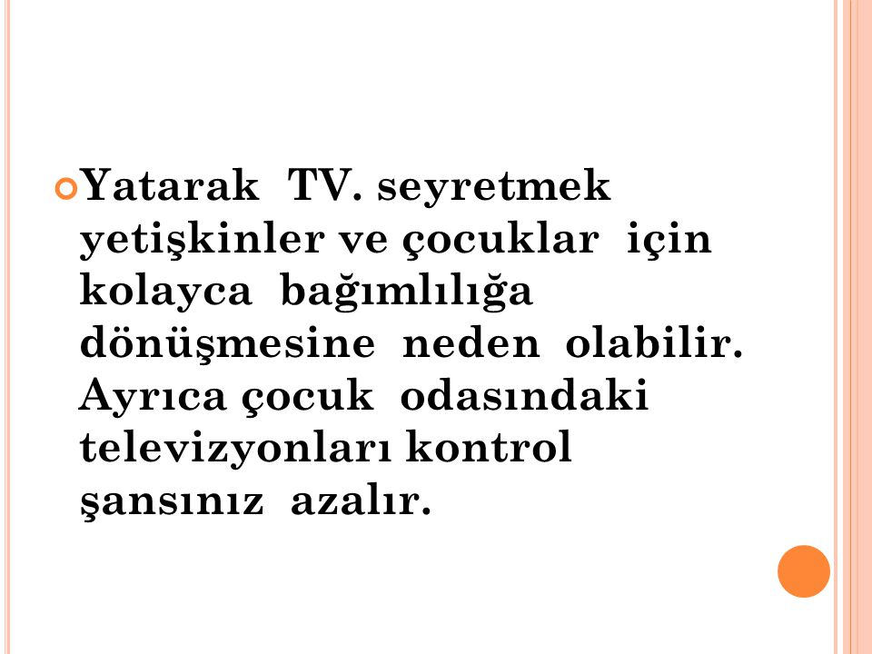 Yatarak TV.