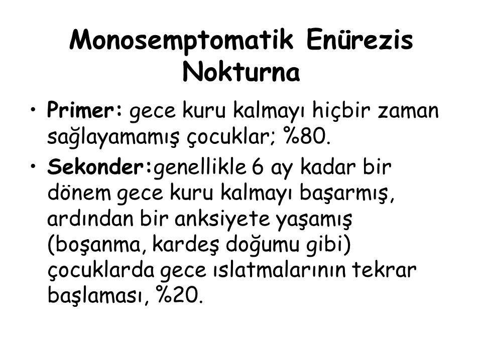 Monosemptomatik Enürezis Nokturna