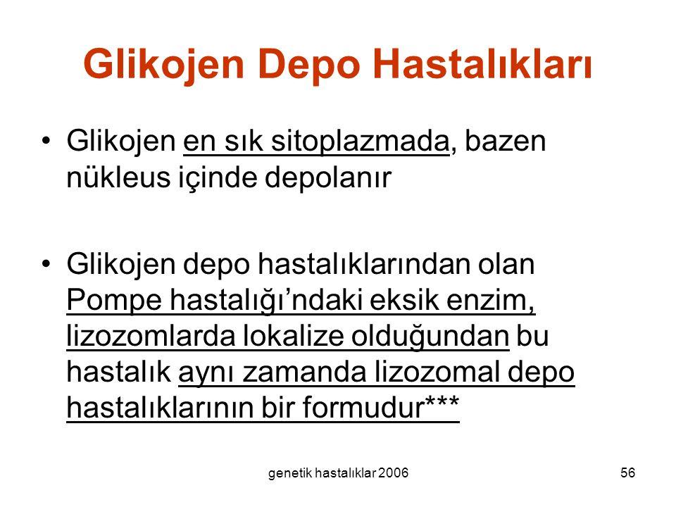 Glikojen Depo Hastalıkları