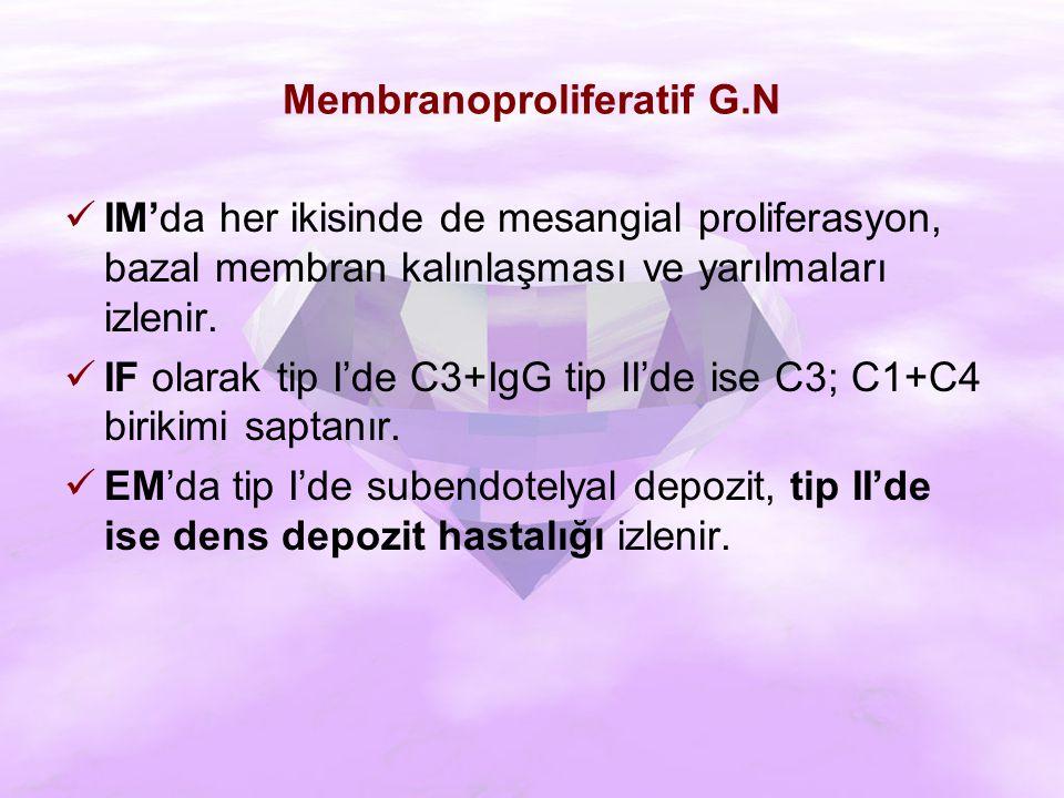 Membranoproliferatif G.N
