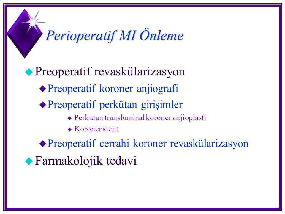Perioperatif MI Önleme