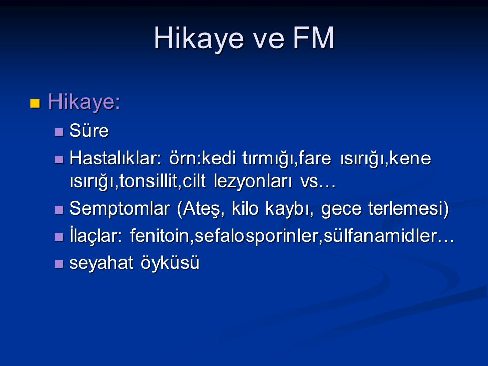 Hikaye ve FM Hikaye: Süre