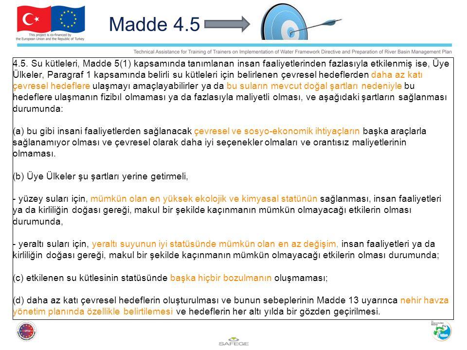 Madde 4.5