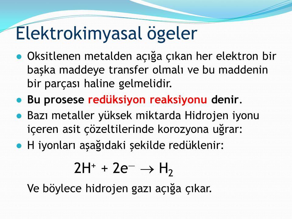 Elektrokimyasal ögeler