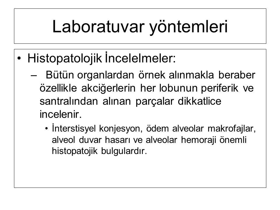 Laboratuvar yöntemleri
