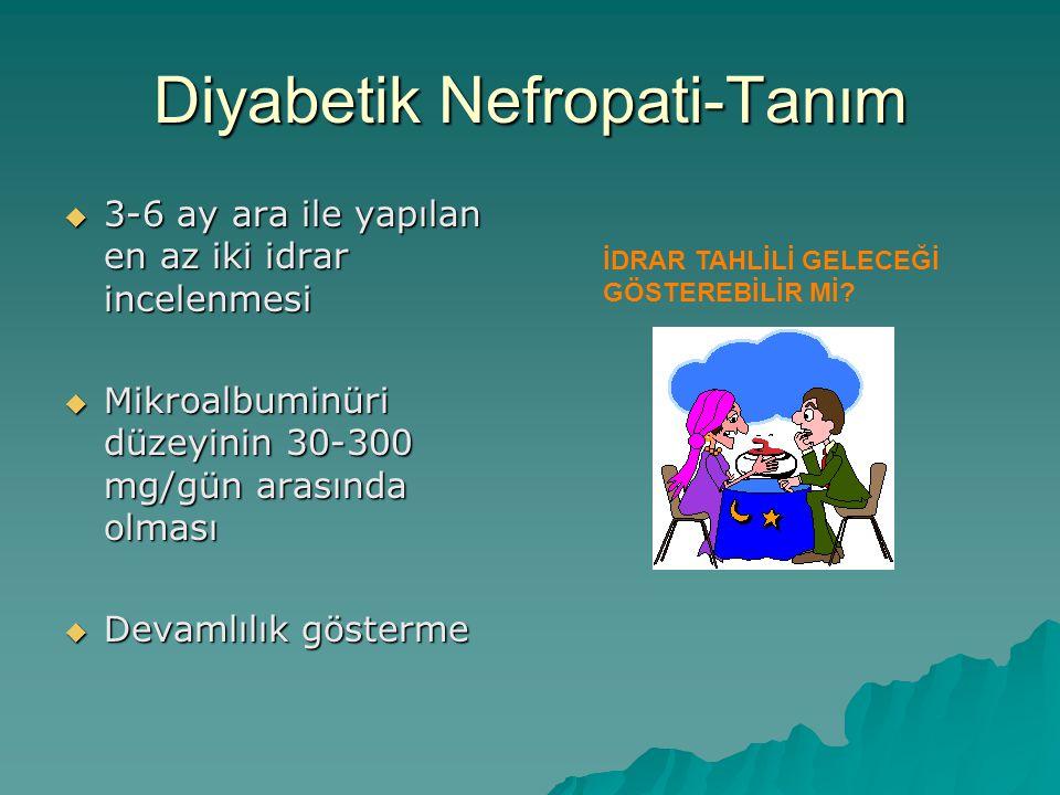 Diyabetik Nefropati-Tanım