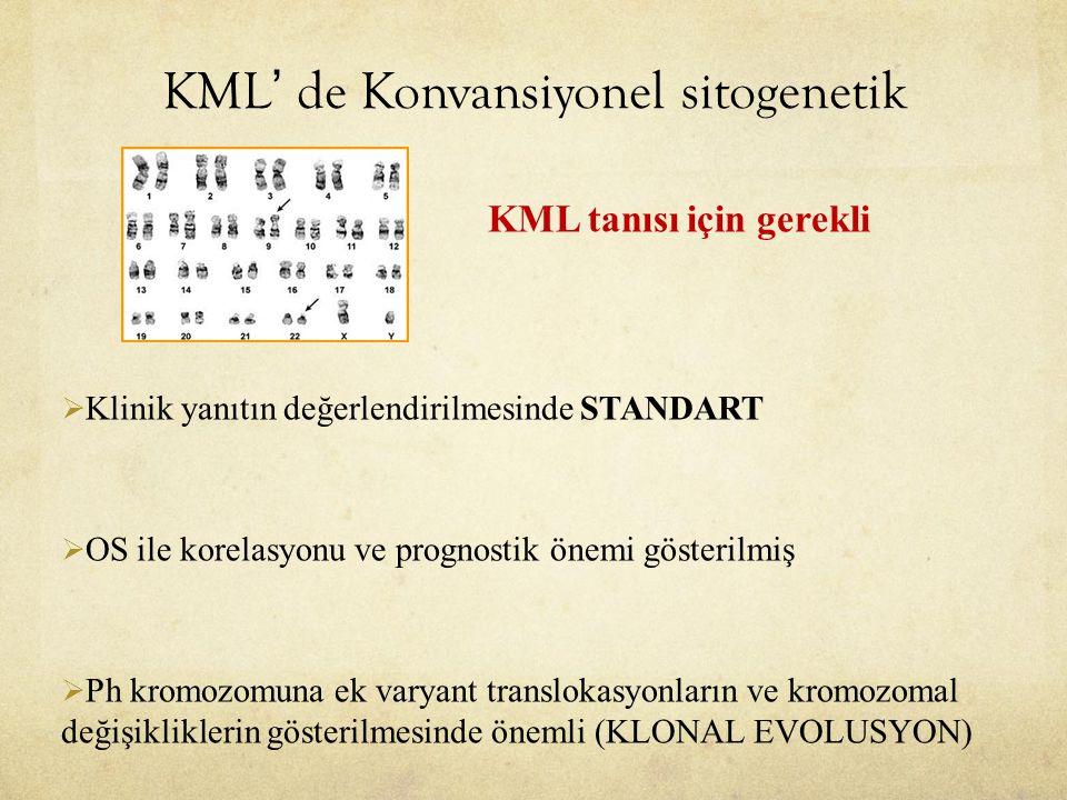 KML' de Konvansiyonel sitogenetik