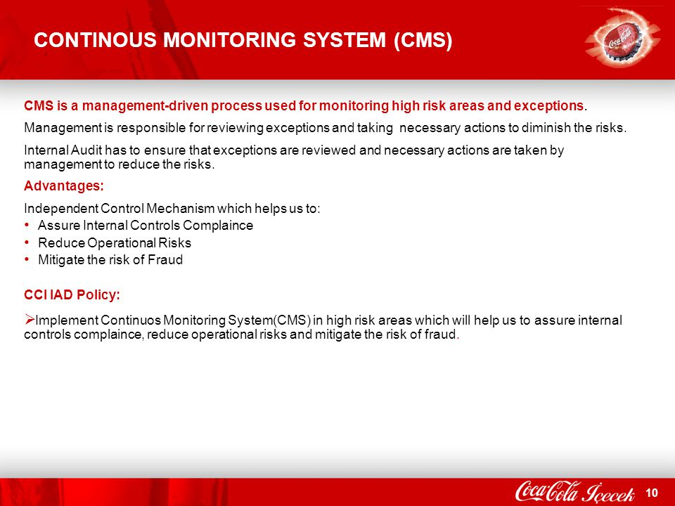 CONTINOUS MONITORING SYSTEM (CMS)
