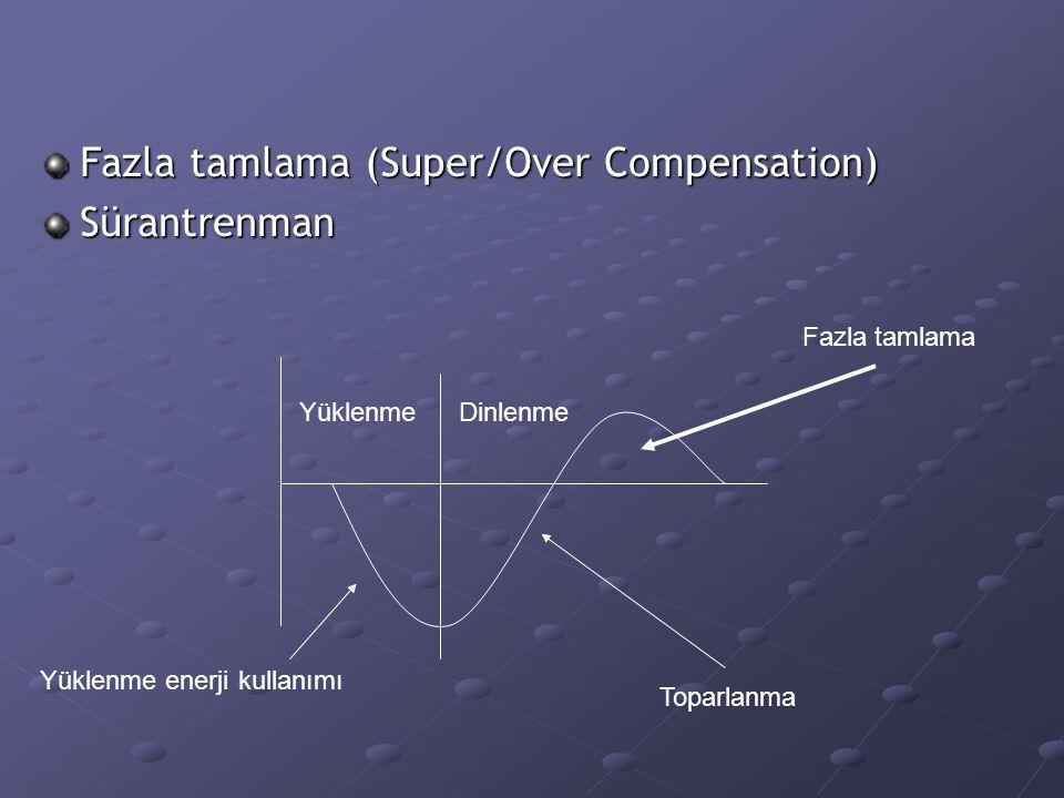 Fazla tamlama (Super/Over Compensation) Sürantrenman
