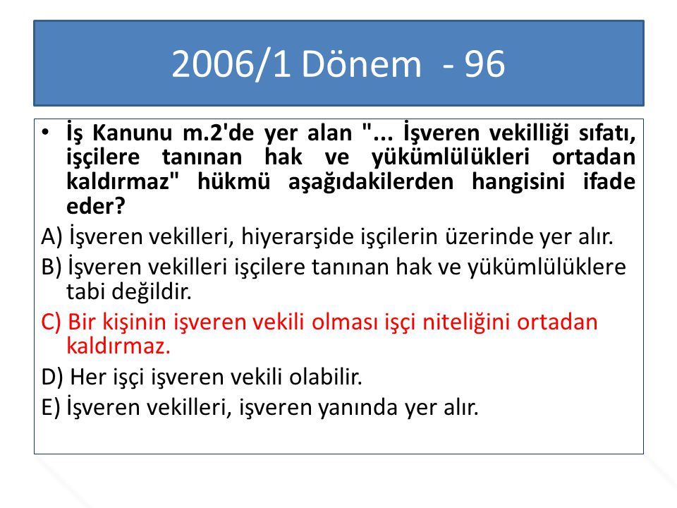 2006/1 Dönem - 96