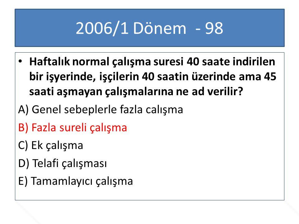 2006/1 Dönem - 98