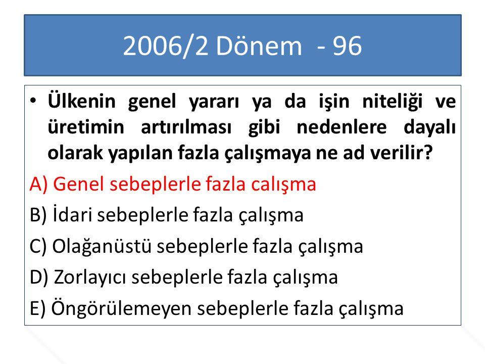 2006/2 Dönem - 96