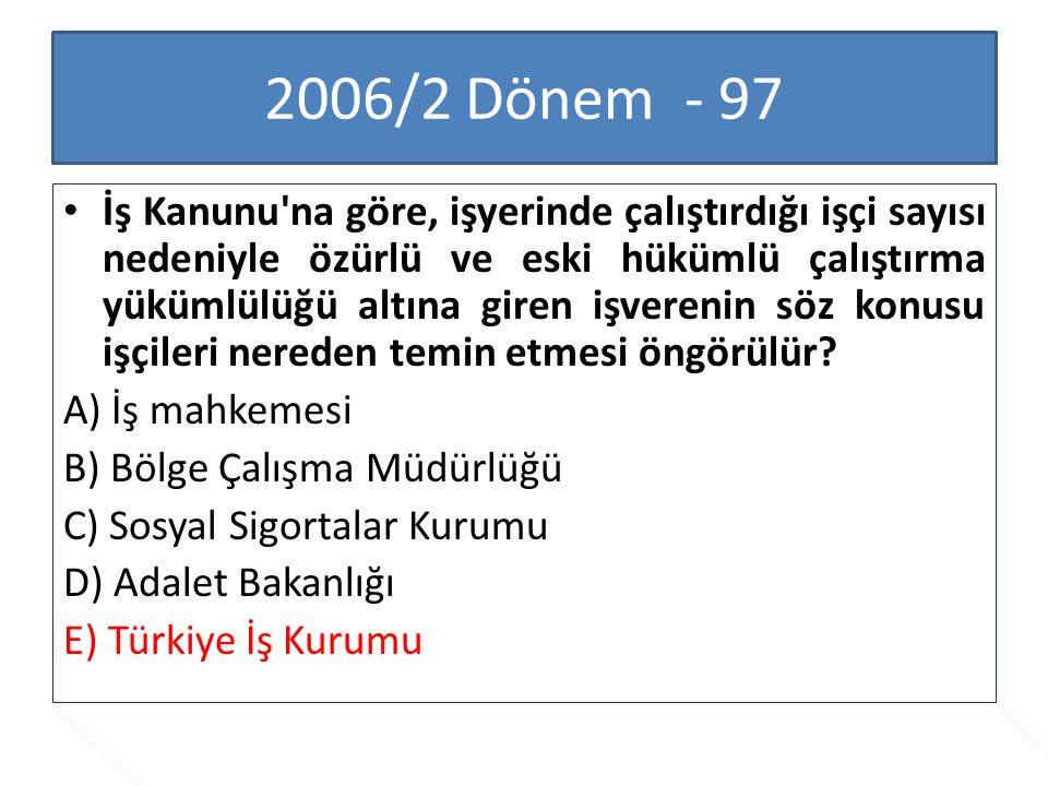 2006/2 Dönem - 97