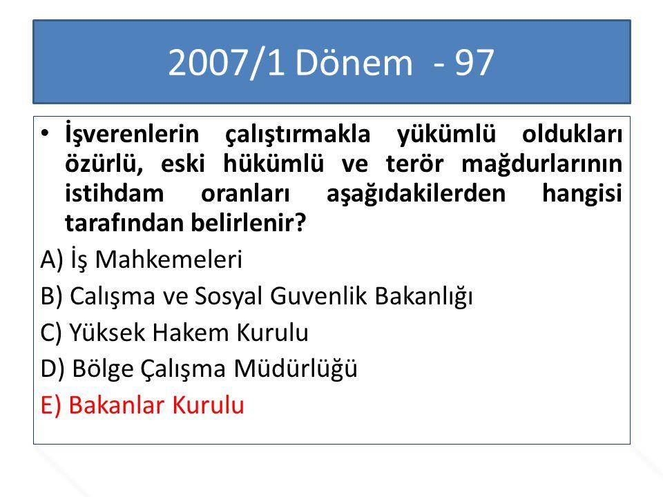 2007/1 Dönem - 97