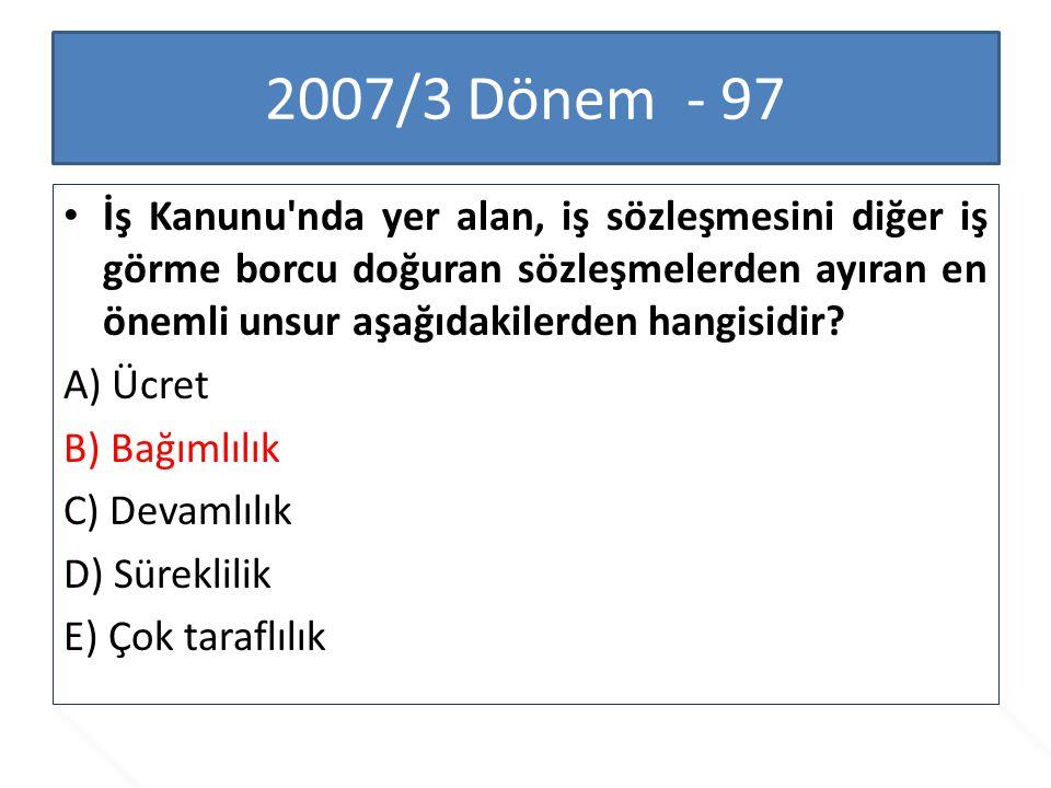 2007/3 Dönem - 97