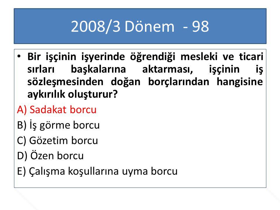 2008/3 Dönem - 98