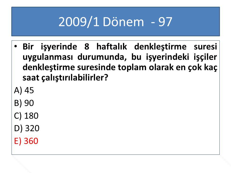 2009/1 Dönem - 97