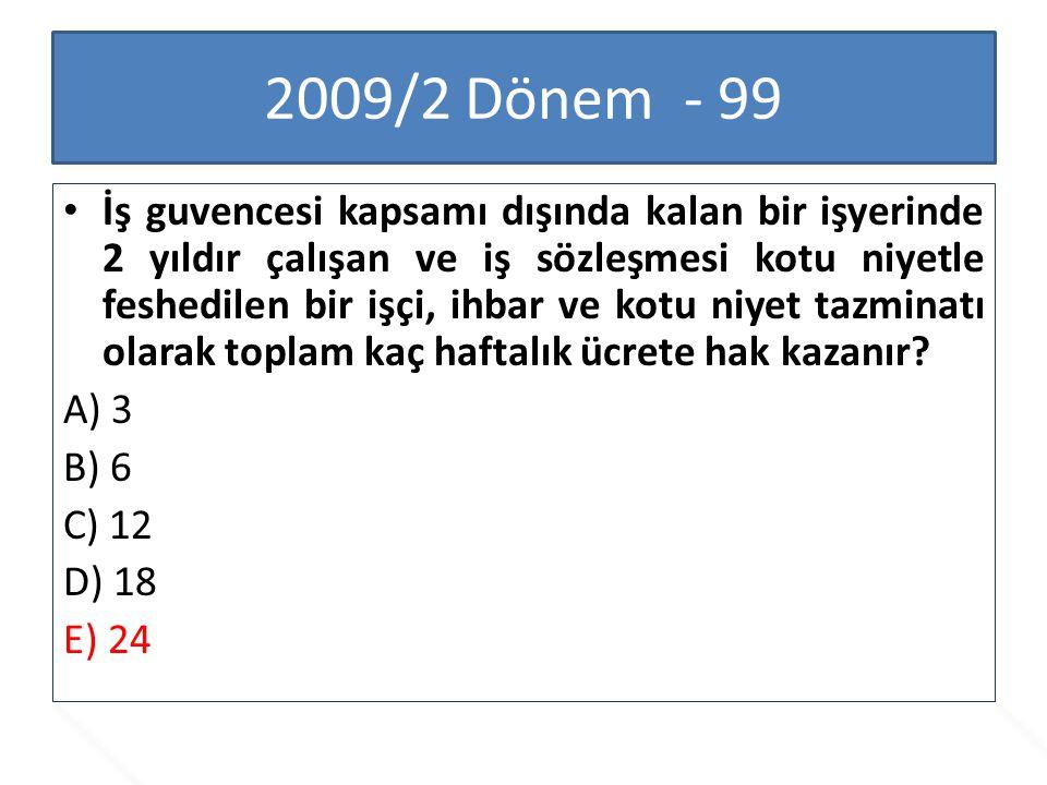 2009/2 Dönem - 99