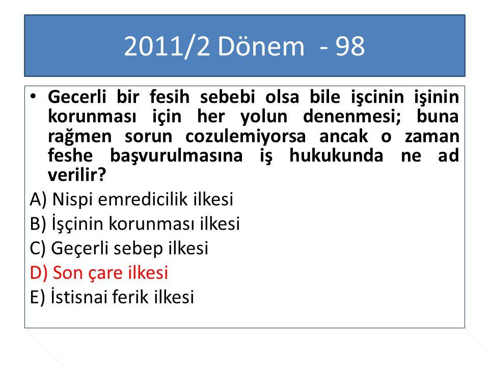 2011/2 Dönem - 98