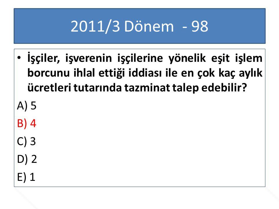 2011/3 Dönem - 98