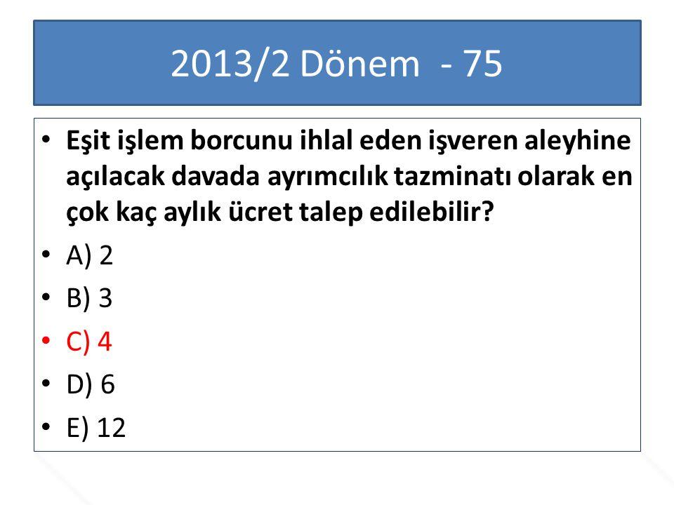 2013/2 Dönem - 75
